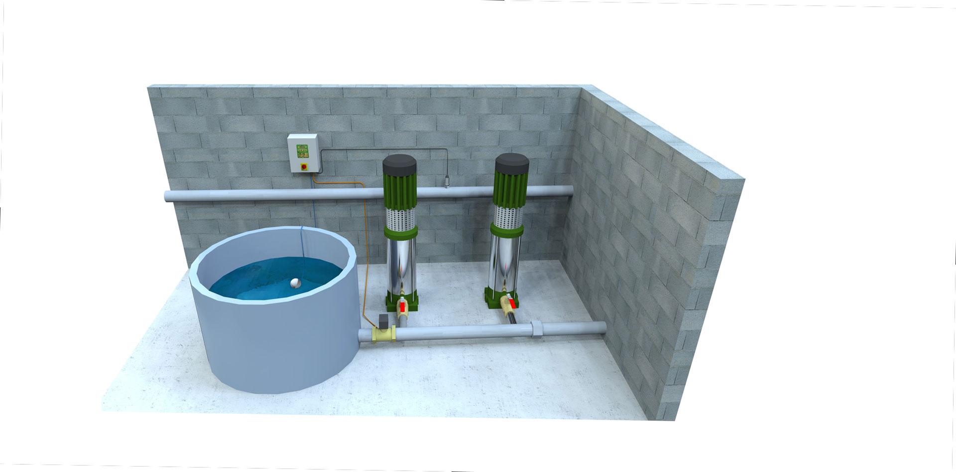 Coffret de protection de pompes hydrauliques