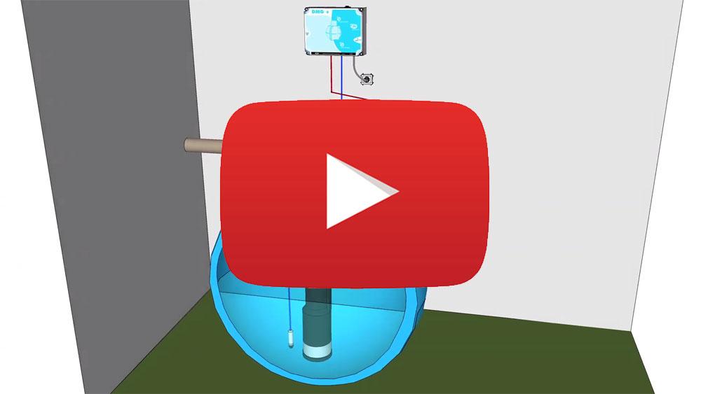 Vidéo de présentation du coffret de gestion de cuve de récupération