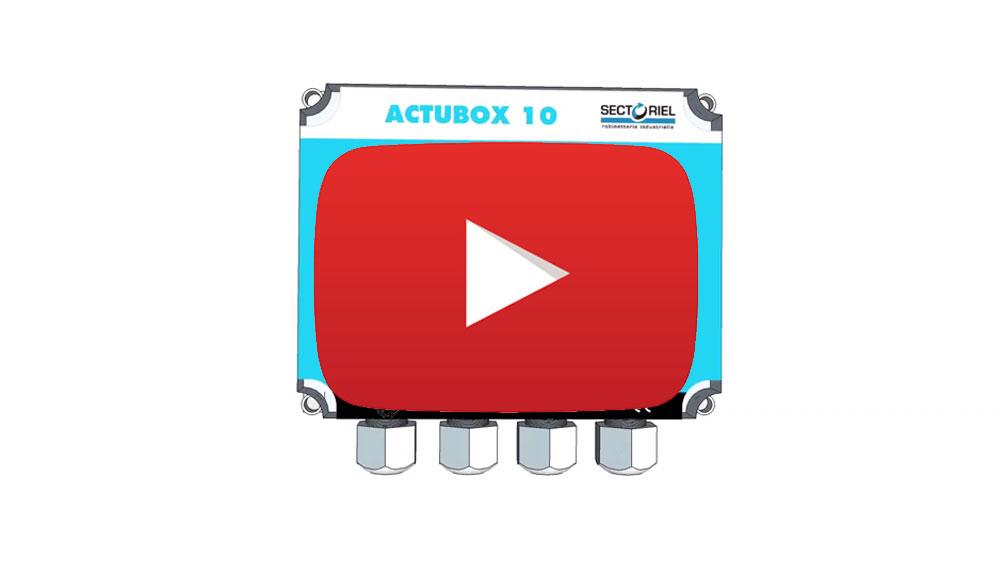 ACTUBIOX, coffret de pilotage de vanne motorisée