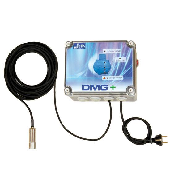 Pilotage des cuves de récupération d'eau de pluie / DMG+