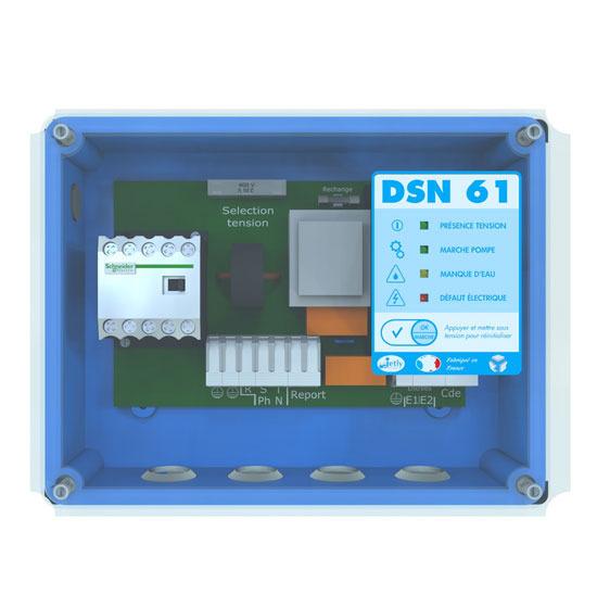 Commande et protection de pompes hydraulique /  DSN 61